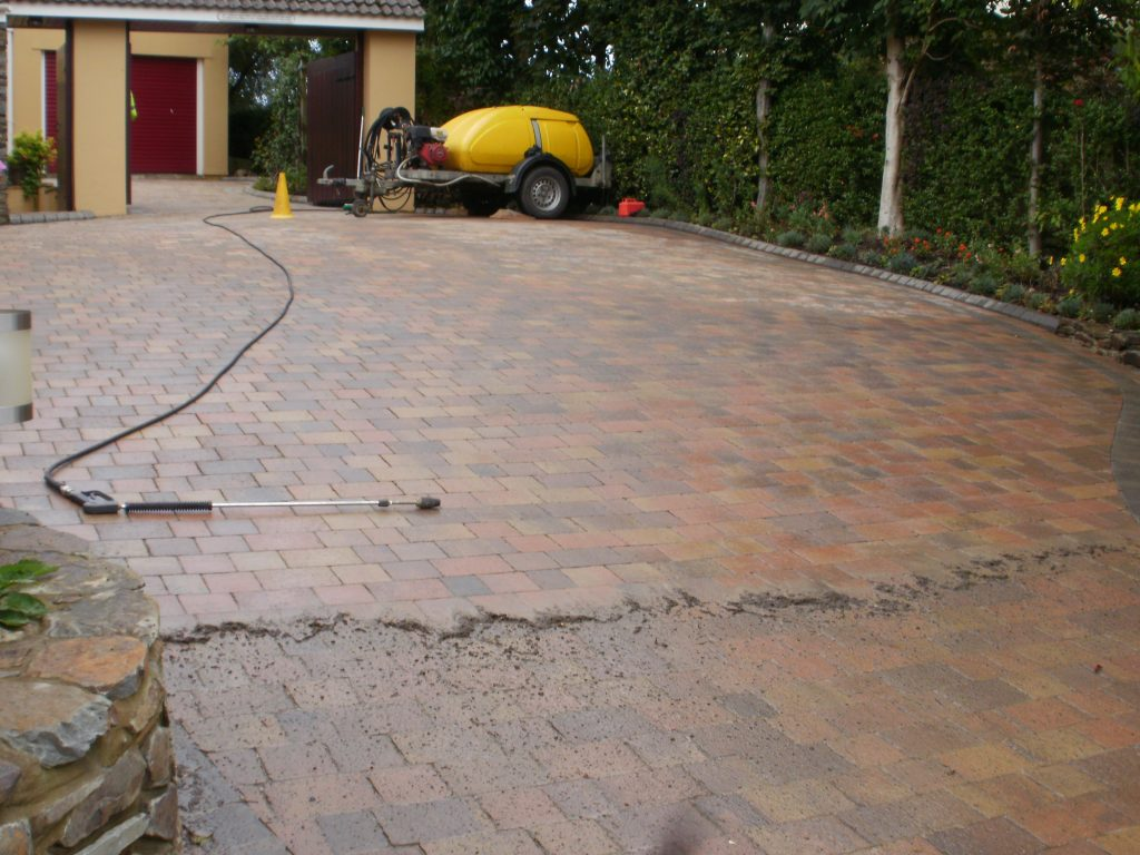 Outdoor Driveway Cleaning in North Devon