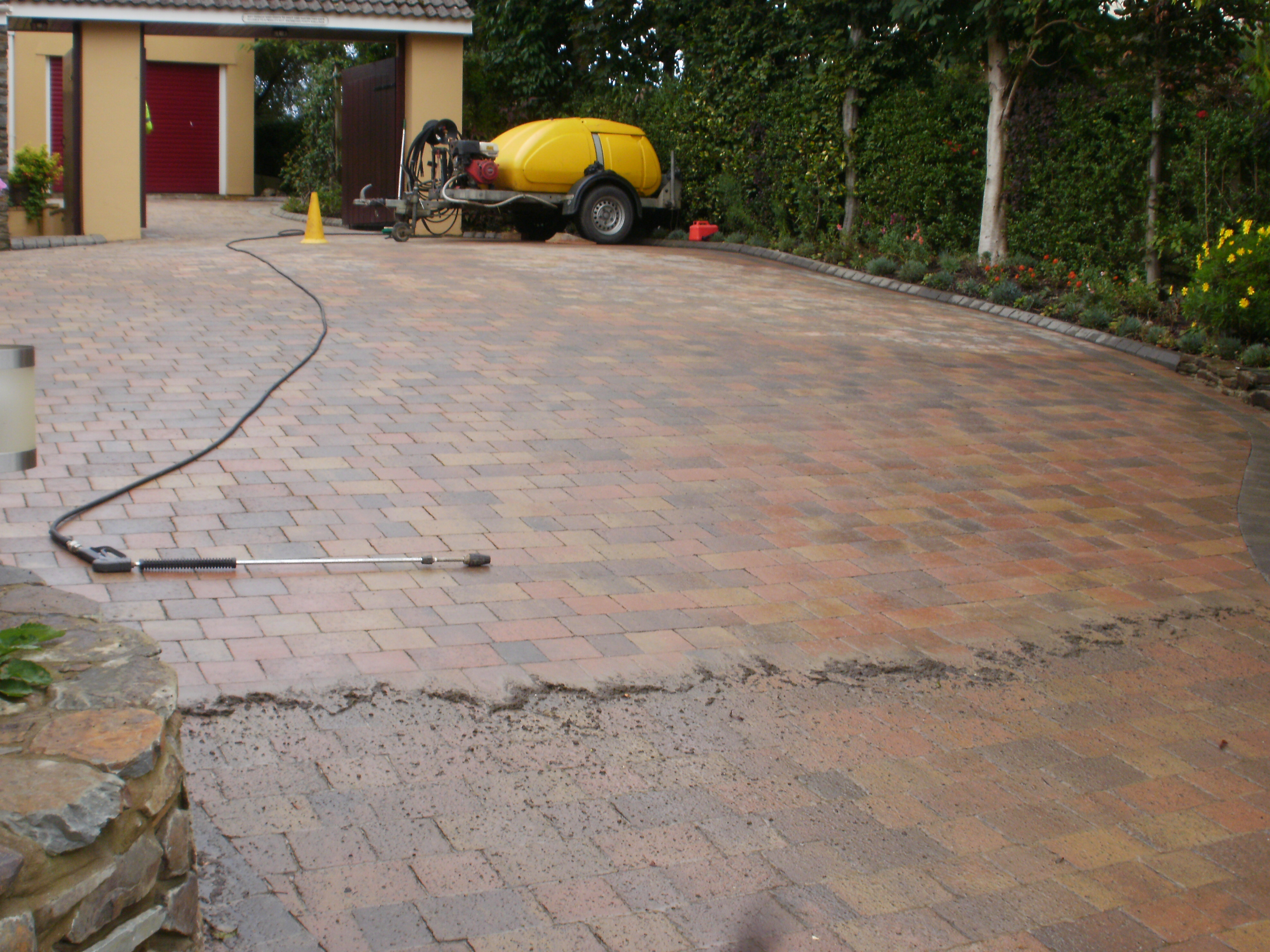 Pressure Washing and Restoration in the South West with Mark's Cleaning.