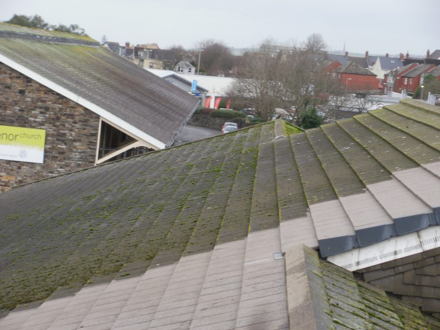 Gutter Cleaning and Roof Cleaning by Mark's Cleaning and Restoration in the South West