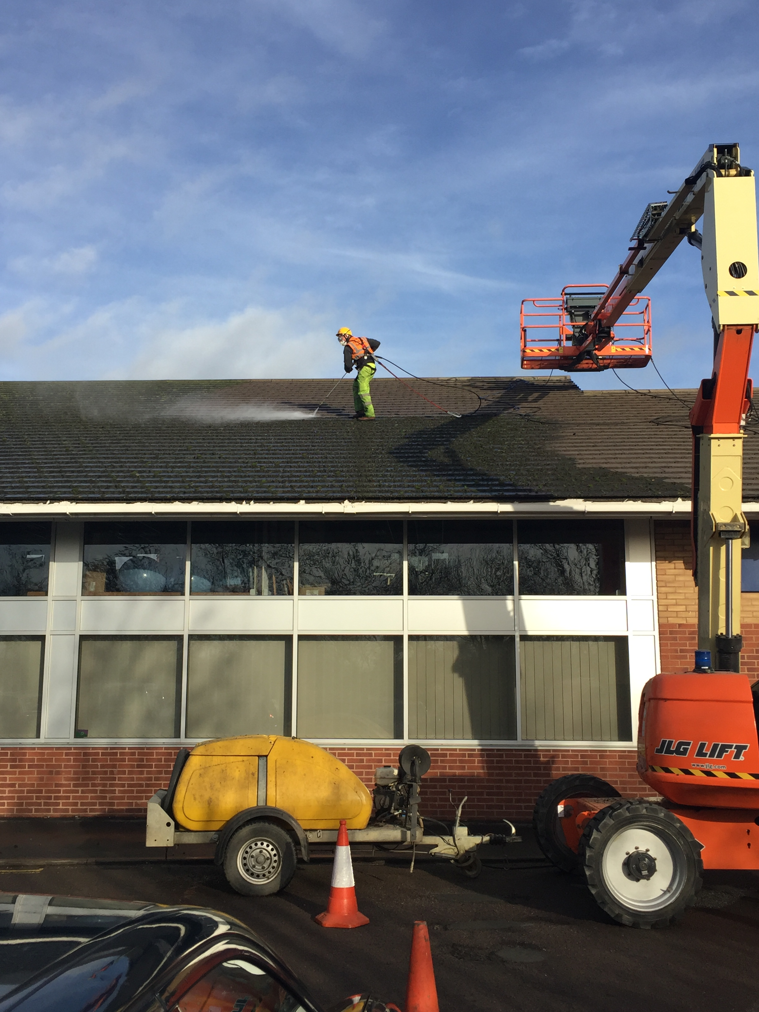 Mark's Cleaning specialises in gutter cleaning in the South West