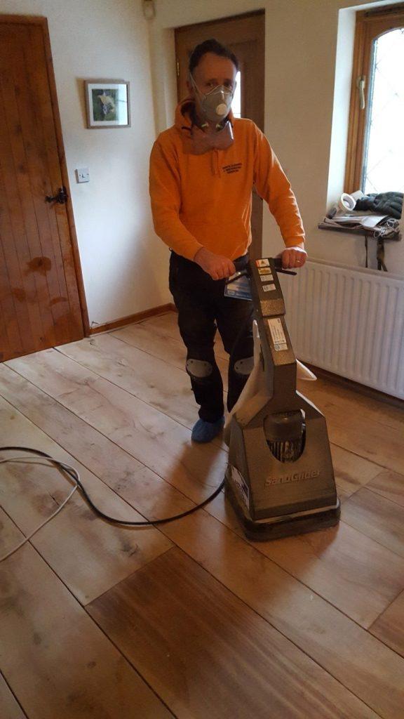 Floor Polishing and Buffering in North Devon