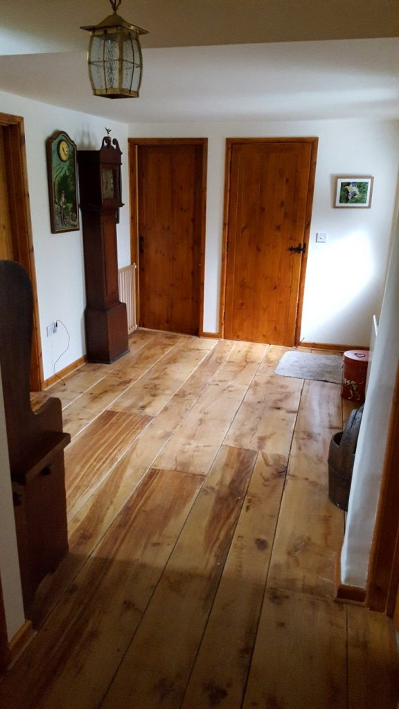 Polished and Buffered Floor